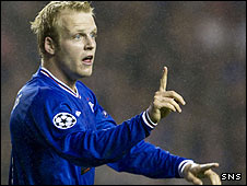 Rangers forward Steven Naismith