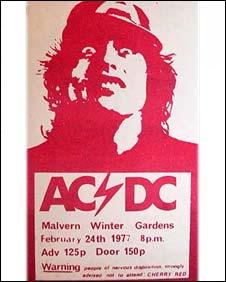 AC/DC concert ticket