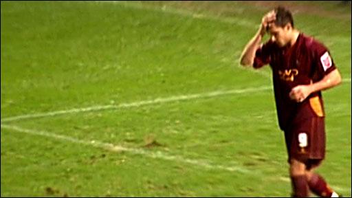 Bradford's Gareth Evans