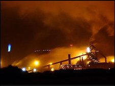 Redcar Steelworks has dominated the Teesside skyline for decades.