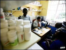 Kenya Aids clinic stacked with retrovirals