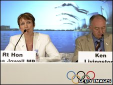 Tessa Jowell and Ken Livingstone