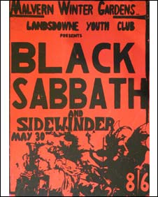 Black Sabbath ticket