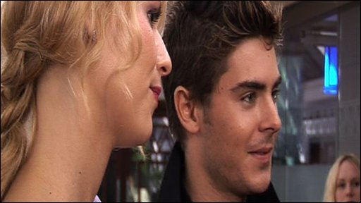 Claire Danes and Zac Efron