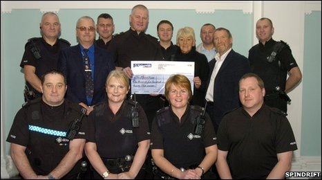 Moira Jones parents and Strathclyde Police officers