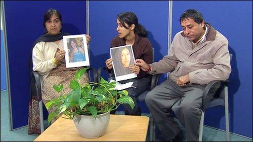 Geeta Aulakh's family