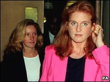 Jane Andrews and Sarah Ferguson