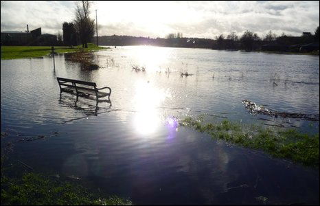 Enniskillen under water