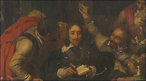Charles I Insulted by Paul Delaroche