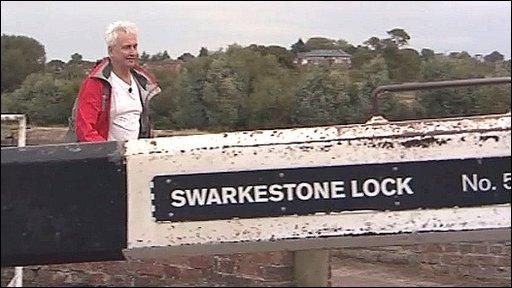 John Holmes at Swarkestone Lock
