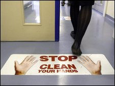 Unannounced visits were made to inspect hospital hygiene standards