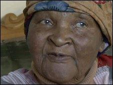 Sowetan resident Christine Sonile