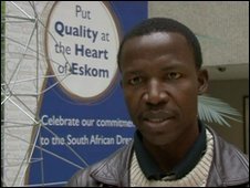 Maboe Maphaka from South Africa power firm Eskom