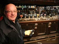 Joe Fagan, landlord of the Bush pub in Cockermouth, Cumbria (pic: George Carrick Photography)