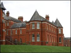 The former female annexe of Herrison Hospital, Charlton Down - built in 1895-6