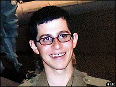 Gilad Shalit, file picture