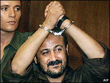 Marwan Barghouti, Palestinian leader jailed by Israel