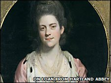 Mrs Orchard - on loan from Hartland Abbey