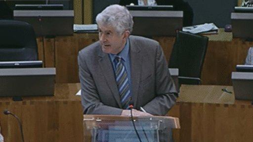 First Minister, Rhodri Morgan