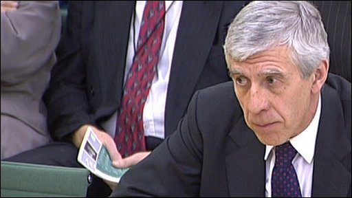 "Jack Straw: ""The decision of the Scottish Executive was a matter for them."""