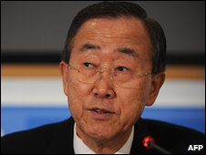 UN Secretary-General Bn Ki-moon