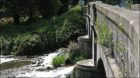 James Green's bridge over the River Otter