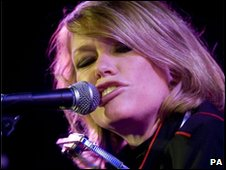 Cerys Matthews performing in London in October