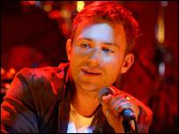 Blur singer Damon Albarn