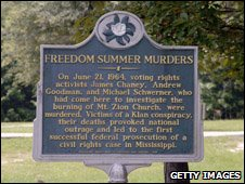 Memorial to the Freedom Summer Murders