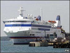 The Barfleur ferry