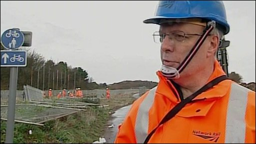 Network Rail&amp;apos;s Keith Lumley