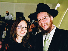 Rabbi Gavriel and Rivka Holtzberg (file picture)