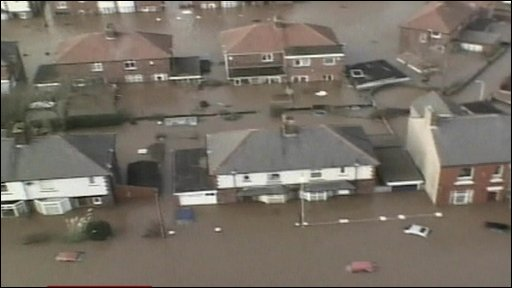 Floods in Cumbria
