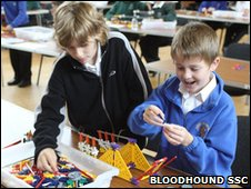 Coventry and Warwickshire Bloodhound K�Nex Challenge Final (Bloodhound SSC)