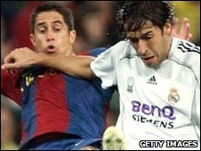 Sylvinho and Raul