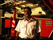 Harishchandra Girkar, Fire officer