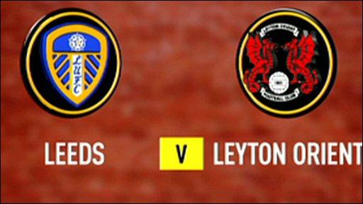 Leeds 1 - 0 Leyton Orient