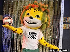 World Cup 2010 mascot Zakumi