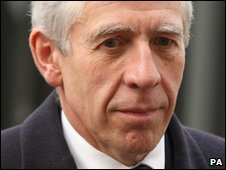Justice Secretary Jack Straw