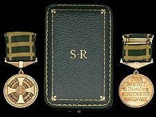 Southern Railway Company MSM Medals