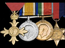 OBE medals