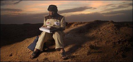 Newton Jibunoh in Mauratania