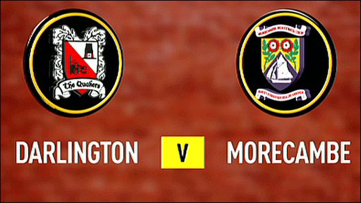 Darlington 0-4 Morecambe
