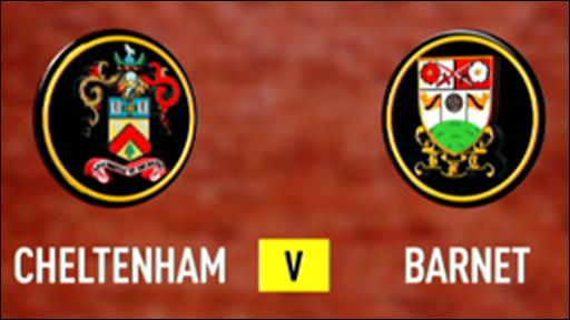 Cheltenham 5-1 Barnet