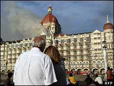 Taj Hotel after last year's attack