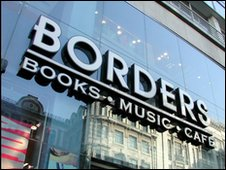 Borders bookshops in the UK go into administration