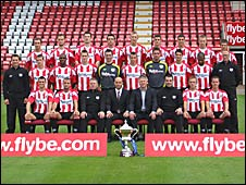 Exeter City's 2008-9 squad