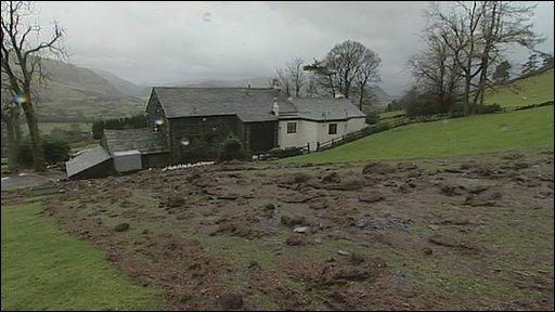 Threlkeld landslide