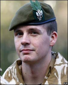 Pte Anthony Myers