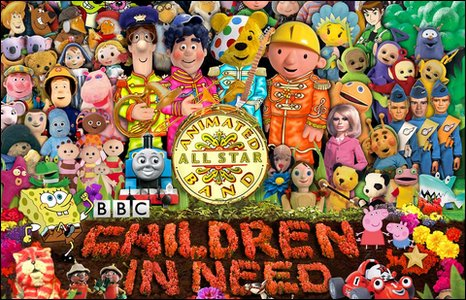 Children in Need poster (detail)